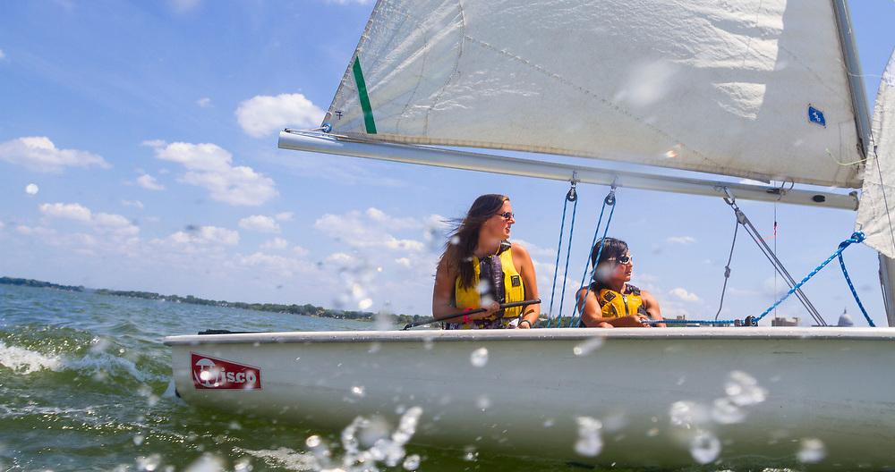 Memorial Union sailing (Photo @ Andy Manis)