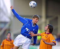 Tore Andre Flo and Greg Strong <br />