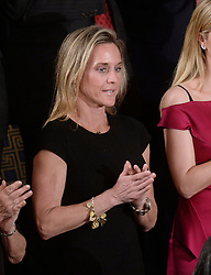 "Carryn Owens , the widow of fallen U.S. Navy SEAL William ""Ryan"" Owens attends U.S. President Donald J. Trump first address to a Joint Session of Congress on Tuesday, February 28, 2017 at the Capitol in Washington, DC. Photo by Olivier Douliery/ Abaca"