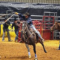 Libby Ezell | BUY AT PHOTOS.DJOURNAL.COM<br /> Cowgirl's Breakaway Roping