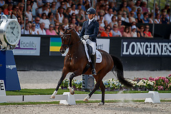 Veeze Bart, NED, Imagine<br /> World ChampionshipsYoung Dressage Horses<br /> Ermelo 2018<br /> © Hippo Foto - Dirk Caremans<br /> 04/08/2018