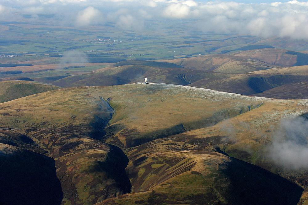 Aerial Images of Scotland - Wanlockhead Radar Station, Scotland