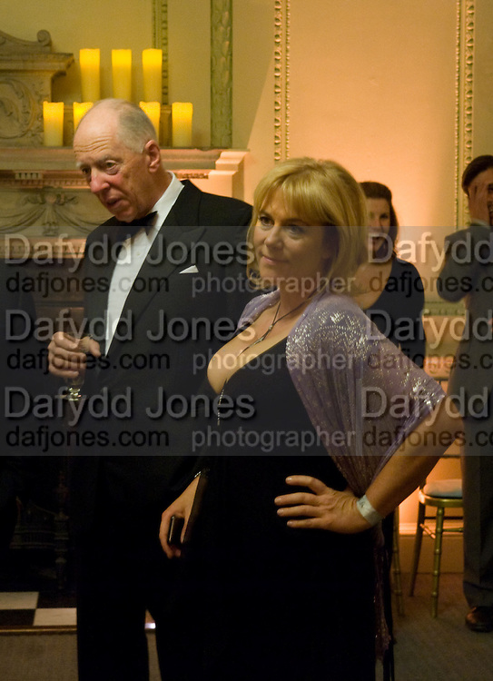 LORD JACOB ROTHSCHILD; HANNAH ROTHSCHILD, Nicky Haslam party for Janet de Botton and to celebrate 25 years of his Design Company.  Parkstead House. Roehampton. London. 16 October 2008.  *** Local Caption *** -DO NOT ARCHIVE-© Copyright Photograph by Dafydd Jones. 248 Clapham Rd. London SW9 0PZ. Tel 0207 820 0771. www.dafjones.com.