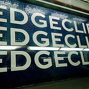 Edgecliff station. Sydney subway