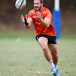 Marius Louw of the Cell C Sharks during the Cell C Sharks training session from theBox Hill Rugby Union Football Club  RHL Sparks Reserve, Canterbury Rd & Middleborough Road, Box Hill VIC 3128. Melbourne,Australia 20 February 2020. (Photo Steve Haag Sports -Hollywoodbets)