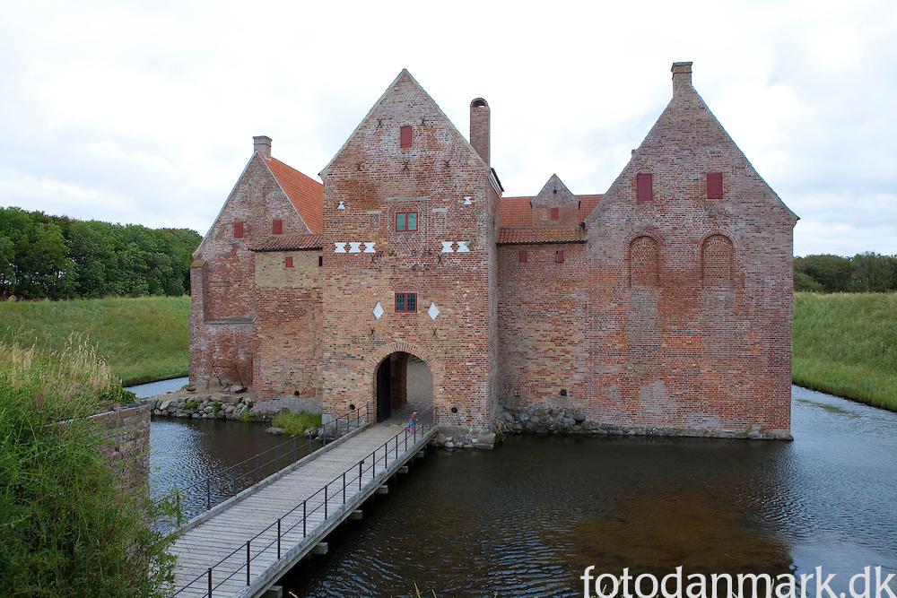 Spøttrup Castle in Salling is Denmark's most well preserved medieval castle. The Castle oozes of medieval times like nowhere else in Denmark.