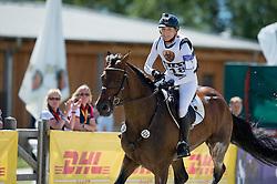 Klimke Ingrid (GER) - FRH Escada JS <br /> Cross country<br /> CCI3*  Luhmuhlen 2014 <br /> © Hippo Foto - Jon Stroud