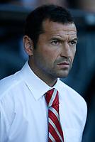 Photo: Steve Bond.<br />Derby County v Nottingham Forest. Pre Season Friendly. 31/07/2007. Forest Manager Colin calderwood looks concerned