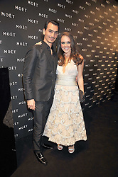 Designer RAMON and KATE BERRY at the Moet & Chandon Tribute to Cinema party held at the Big Sky Studios, Brewery Road, London N7 on 24th March 2009.