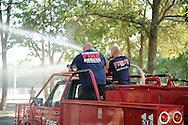 01 Aug. 2015 Lanoka Harbor USA // LHFD 75th anniversary and housing of their new rescue  //  Michael Glenn / Glenn Images