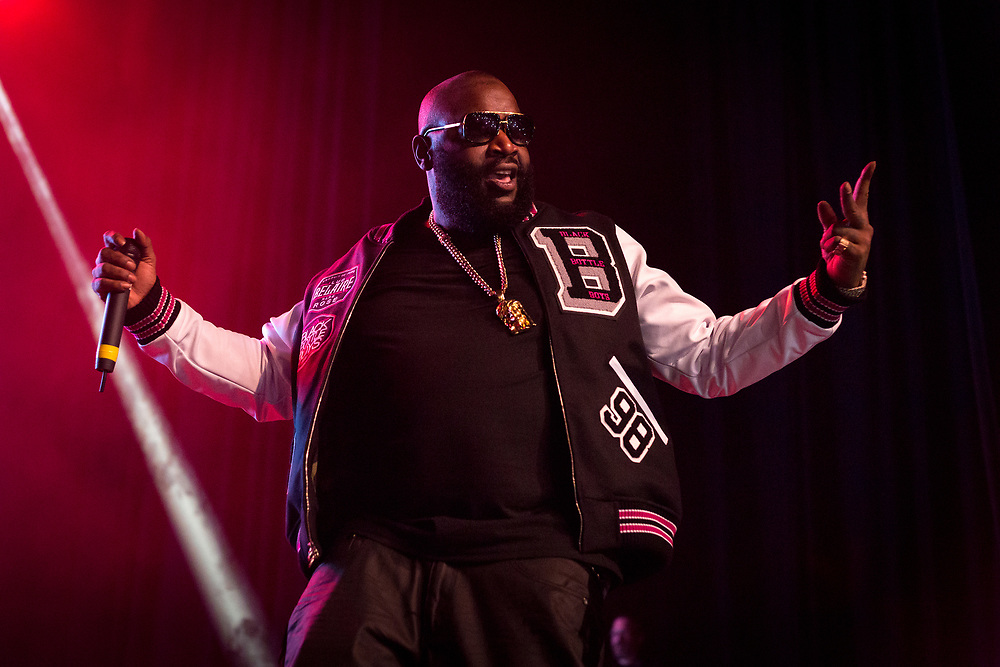 December 26, 2015: Rick Ross performs at The Bomb Factory in Dallas