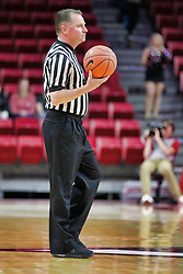 NORMAL, IL - December 04:  Royce Blevins during a college women's basketball game between the ISU Redbirds  and the Austin Peay Governors on December 04 2018 at Redbird Arena in Normal, IL. (Photo by Alan Look)