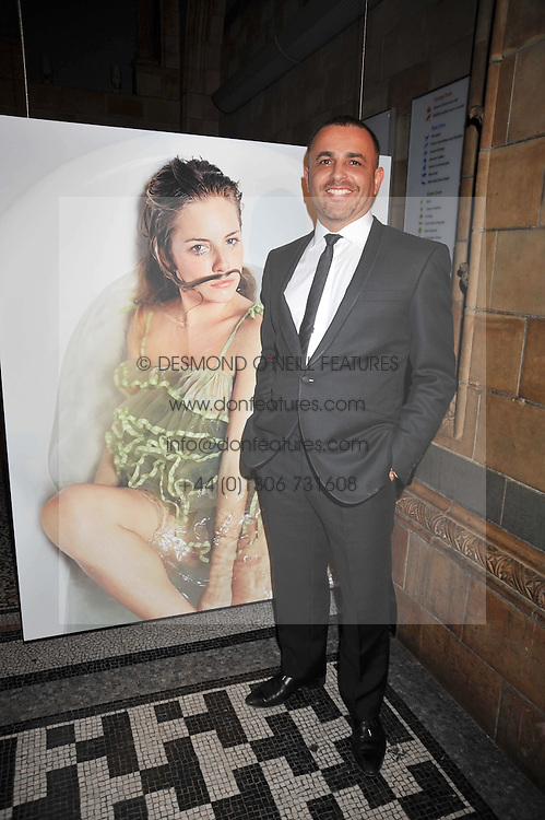 Photographer LORENZO AGIUS at the 30 Days of Fashion & Beauty Gala Party sponsored by Boots in aid of Breast Cancer Care held at the Natural History Museum, London on 21st September 2009.