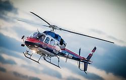 THEMENBILD - Ein Polizeihubschrauber des Innenministeriums am 21. Oktober 2013 am Flughafen Graz Thalerhof // THEMES PICTURE - a police helicopter on 21 October 2013. EXPA Pictures © 2013, PhotoCredit: EXPA/ Erwin Scheriau