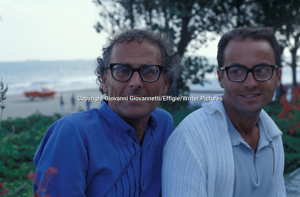 Pappi Corsicato, Antonio Capuano<br /> <br /> <br /> 09/09/2004<br /> Copyright Giovanni Giovannetti/Effigie/Writer Pictures<br /> NO ITALY, NO AGENCY SALES