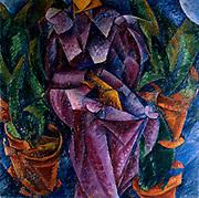 Umberto Boccioni (1882 – 1916)Italian painter and sculptor. 'Composizione spiralica' (Spiral Composition), 1913