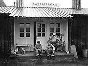 Raststuga Låktatjåkka i Lappland
