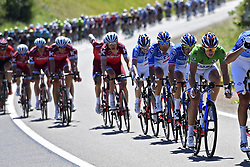 June 8, 2017 - Macon, France - MACON, FRANCE - JUNE 8 : DEMARE Arnaud (FRA) Rider of FDJ during stage 5 of the 69th edition of the Criterium du Dauphine Libere cycling race, a stage of 175 kms between La Tour-de-Salvagny and Macon on June 08, 2017 in Macon, France, 8/06/2017 (Credit Image: © Panoramic via ZUMA Press)