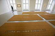 "dOCUMENTA (13) in Kassel, Germany..Friedericianum..Fabio Mauri. ""Non ero nuovo"" (I was not new), 2009."