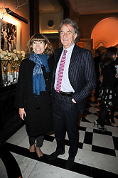 SIR PAUL & LADY SMITH at the launch of the Claridge's Christmas Tree designed by John Galliano for Dior held at Claridge's, Brook Street, London on 1st December 2009.