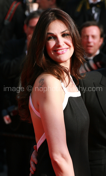 Helena Noguerra at Sils Maria gala screening red carpet at the 67th Cannes Film Festival France. Friday 23rd May 2014 in Cannes Film Festival, France.