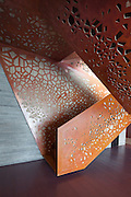 Copper staircase, Villa Mallorca. Arup