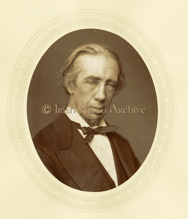 'George Alexander Macfqrren (1813-1887) c1881,  English composer and conductor: Principal of the Royal Academy of Music 1871-1887.'