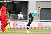 Dane Van Niekerk of the Surrey Stars during the Women's Cricket Super League match between Lancashire Thunder and Surrey Stars at the Emirates, Old Trafford, Manchester, United Kingdom on 7 August 2018.
