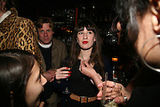 George-Rose Fairman, A A Gill party to celebrate the  publication of Table Talk, a collection of his reviews. Hosted by Marco Pierre White at <br />Luciano, 72 St James's Street, London,. 22 October 2007, -DO NOT ARCHIVE-© Copyright Photograph by Dafydd Jones. 248 Clapham Rd. London SW9 0PZ. Tel 0207 820 0771. www.dafjones.com.