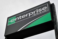 Embargoed to 0001 Saturday April 28 A Enterprise rental vehicle sign in Bristol, as the company was the highest rated worldwide vehicle rental firm with 78\% in an annual survey by Which? Travel magazine. Budget firm InterRent car hire has recorded the lowest customer satisfaction rating of any operator in seven years, according to the consumer group.