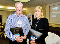 John and Mary Grennan, J Grennan and Sons at the Smácht Mór Business Conference in the Connemara Coast Hotel Galway . Photo:Andrew Downes. Photo issued with Compliments, No reproduction fee.