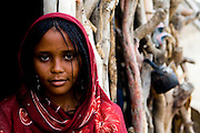 An Afar woman in the Danakil