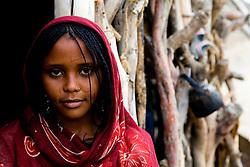 An Afar woman in the Danakil