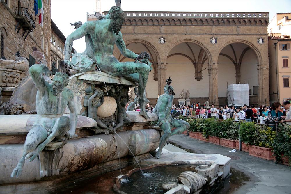 Piazza della Signoria, Florence, Italy, Florence, Italy