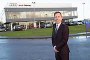 Pictured is Cathal Byrne, dealer principal of Audi Galway, at the official launch of the Audi Galway Future Now test drive event. The event, which will take place at the showroom on Saturday 22nd and Sunday 23rd November, will provide motorists in the west with the opportunity to experience and test drive the stunning new 2015 Future Now Audi collection. Weekend highlights also include an interactive cookery demonstration by celebrity chef Rachel Allen and children&rsquo;s entertainment throughout the weekend. For further information visitwww.audi.ie/futurenow <br /> Photo:Andrew Downes