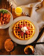 Waffles Breakfast