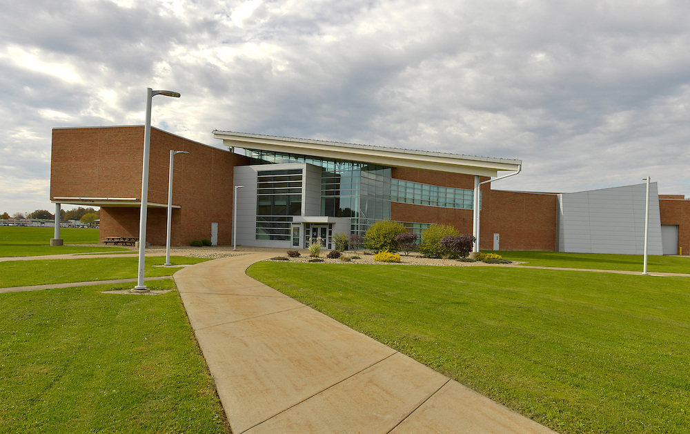 The Workforce Development Building at the Kent State Trumbull Campus.