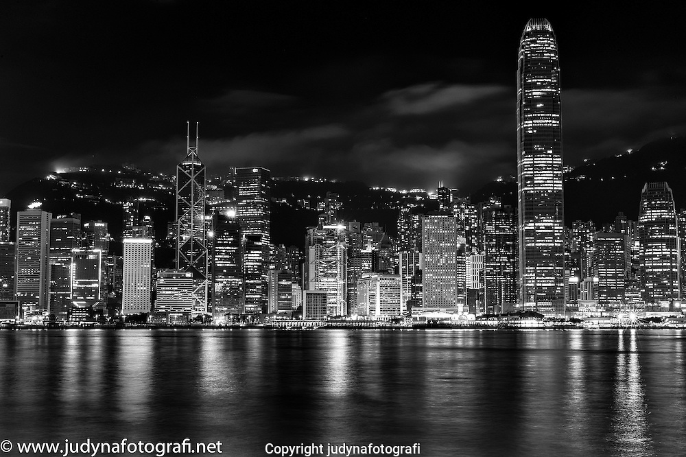Honkong taken from Kowloon