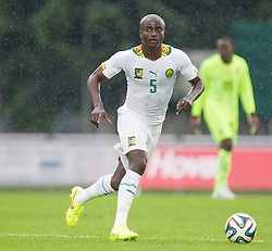 26.05.2014, Kufstein Arena, KUFSTEIN, AUT, FIFA WM, Testspiel, Mazedonien vs Kamerun, am Montag, 26. Mai 2014, während eines freundschaftlichen Fußball-Testspiels zwischen Mazedonien und Kamerun in Kufstein //, im Bild Dany Noukeu (Kamerun) // Dany Noukeu (Kamerun) during friendly match between Macedonia and Cameroon for Preparation of the FIFA Worldcup Brasil 2014 at the Kufstein Arena in KUFSTEIN, Austria on 2014/05/26. EXPA Pictures © 2014, PhotoCredit: EXPA/ JFK