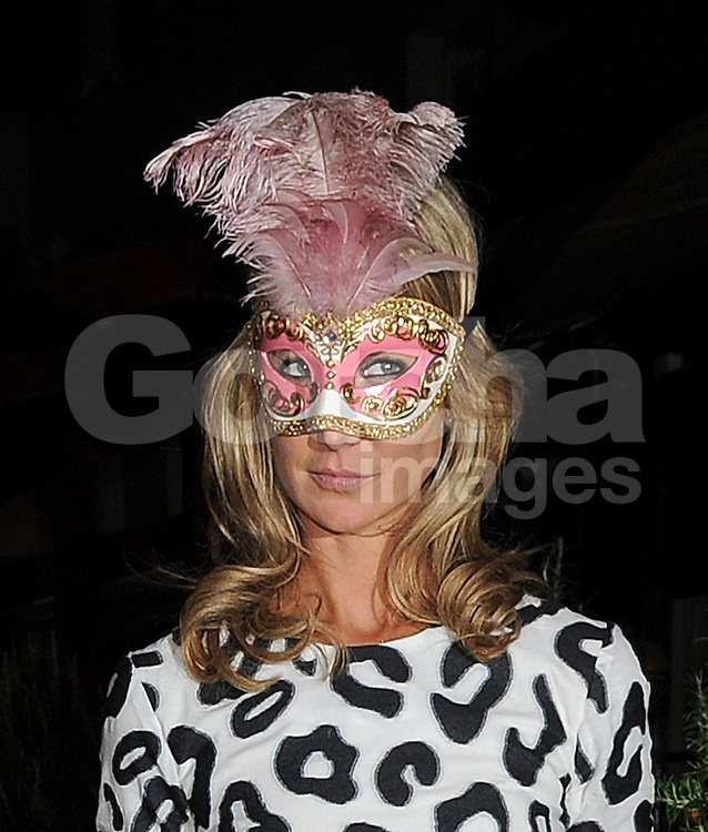 Lady Victoria Hervey leaving LFW AnOther Magazine party at Loulou's private members club in Mayfair, London, UK. 15/09/2014<br />BYLINE MUST READ : GOTCHAIMAGES.COM<br /><br />Copyright by &copy; Gotcha Images Ltd. All rights reserved.<br />Usage of this image is conditional upon the acceptance <br />of Gotcha Images Ltd, terms and conditions available at<br />www.gotchaimages.com