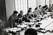 inside a traditonal Ryokan Japan 1960s