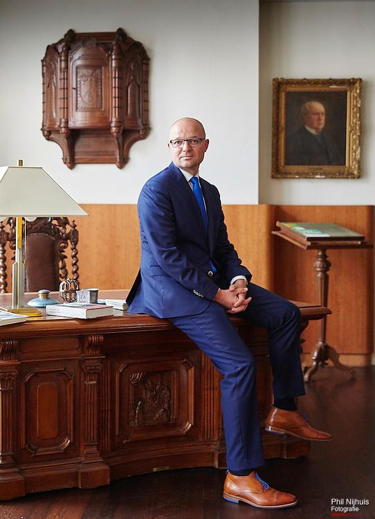 Den Haag, 6 oktober 2015 -  Rien Fraanje van het wetenschappelijk instituut CDA.<br /> Foto: Phil Nijhuis