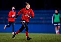 SAINT PETERSBURG, RUSSIA - Sunday, October 22, 2017: Wales' Rachel Rowe during a training session at the Petrovsky Minor Sport Arena ahead of the FIFA Women's World Cup 2019 Qualifying Group 1 match between Russia and Wales. (Pic by David Rawcliffe/Propaganda)
