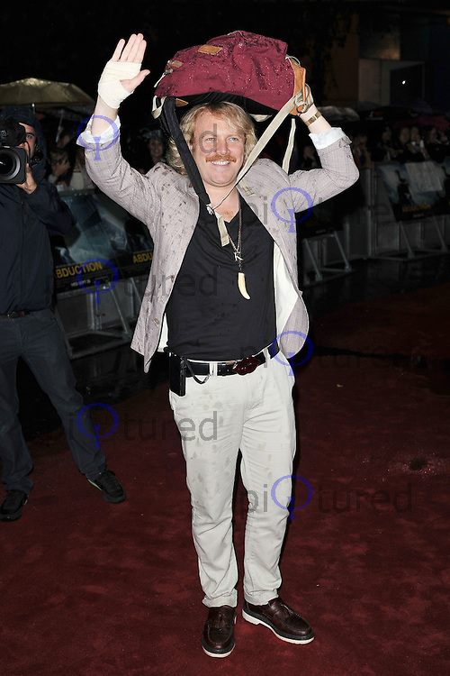 Leigh Francis Abduction UK Premiere, BFI IMAX Waterloo, London, UK. 26 September 2011 Contact: Rich@Piqtured.com +44(0)7941 079620 (Picture by Awais Butt)