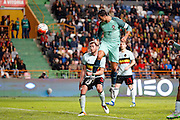 Portugal's Cristiano Ronaldo scores   pictured during the FIFA international friendly match between Portugal and Belgium as part of the preparation of the Belgian national soccer team prior to the UEFA EURO 2016  in Leiria, Portugal. but