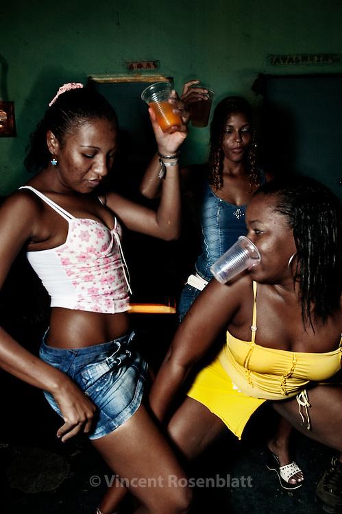 Baile Funk in a creche of favela Vila Cruzeiro, Complexo da Penha, Rio de Janeiro..