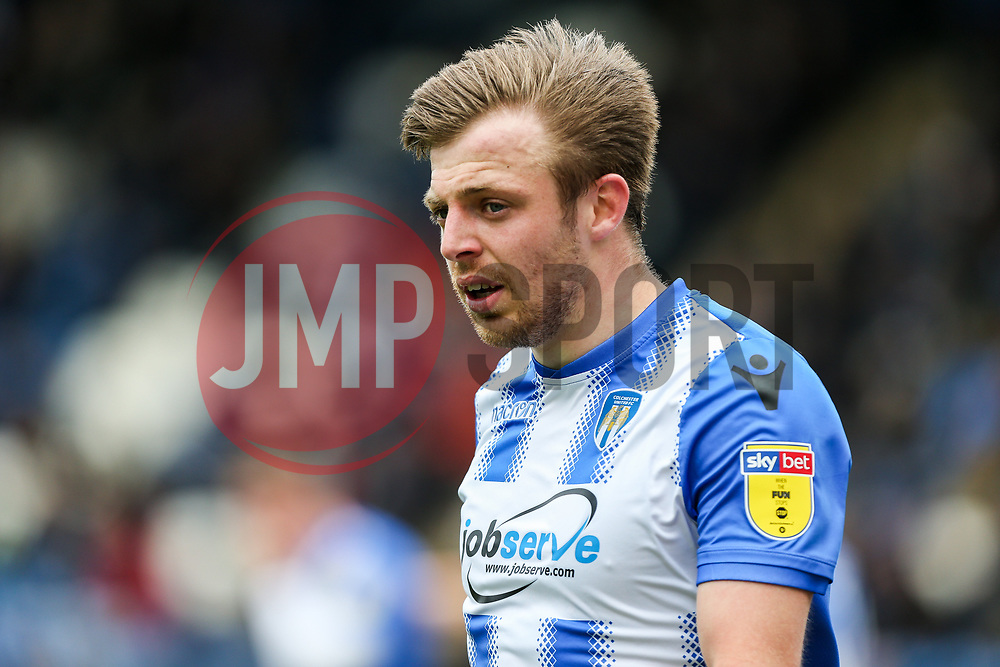 Tom Lapslie of Colchester United - Mandatory by-line: Arron Gent/JMP - 27/04/2019 - FOOTBALL - JobServe Community Stadium - Colchester, England - Colchester United v Milton Keynes Dons - Sky Bet League Two