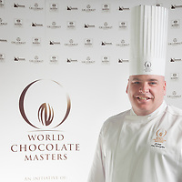 Judge Tim Wasylko. World Chocolate Masters Canadian Selection, January 20, 2013.