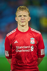 TRABZON, TURKEY - Thursday, August 26, 2010: Liverpool's Dirk Kuyt before the UEFA Europa League Play-Off 2nd Leg match against Trabzonspor at the Huseyin Avni Aker Stadium. (Pic by: David Rawcliffe/Propaganda)