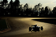 February 19, 2013 - Barcelona Spain. An F1 car  during pre-season testing from Circuit de Catalunya.